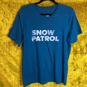 Snow Patrol Teal Wildness 2019 Tour Shirt Size L